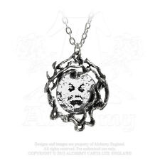 M'era Luna Melies Moon Pe By Alchemy Gothic Man in the Moon Necklace Alterntive