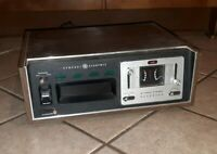 GE General Electric 8 Track Player recorder TA 600B COMPONENT STEREO UNIT