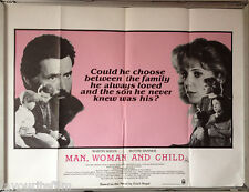 Cinema Poster: MAN, WOMAN AND CHILD 1983 (Quad) Martin Sheen Blythe Danner