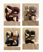 NEW Life Comfort Ultimate Sherpa Plush Luxurious Throw Blanket Free Shipping