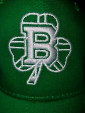 TWO (2) 2019 SAINT PATRICK'S DAY BOSTON BRUINS HATS (Adjustable)