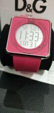 D&G Dolce & Gabbana DW0737 High Contact Pink Dial & Strap Touch Screen Watch