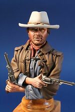 """The Outlaw"" 1/9th scale unpainted resin bust kit. New sculpt"