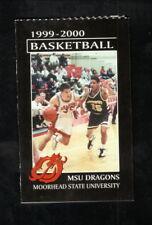 Moorhead State Dragons--1999-00 Basketball & Wrestling Schedule--MeritCare