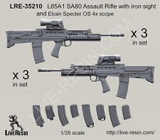 Live Resin 1/35 LRE-35210 L85A1 SA80 Assault Rifle with Iron Sight (3)