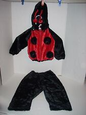Lady Bug 3 Piece Costume Childs Party Dress Up Halloween