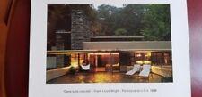 "Frank Lioyd Wright - "" Casa sulla cascata """