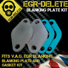 VW EGR Blanking Plate Kit Fits VOLKSWAGEN VW TRANSPORTER T4 T5 3mm Thick Steel
