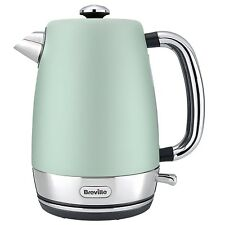 Breville 1.7L Strata Kettle Fast Boiling 3kW Limescale Filter Cord Storag Green