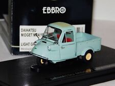 DAIHATSU MIDGET MP4 1959 LIGHT GREEN EBBRO 43854 1:43