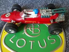 Plastic Toy Lotus 38 Ford High Speed Mechanism Play-Worn Incomplete