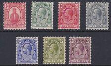 Turks & Caicos GV 1921 MINT short set sg154-160