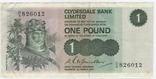 More details for 1974 scotland clydesdale bank one pound note | pennies2pounds
