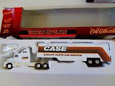 ERTL DIE CAST - KENWORTH T600B SEMI WITH DROP BOX VAN TRAILER -  1:87 HO  NIP