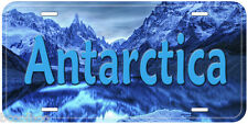 Antarctica Novelty Car License Plate P02
