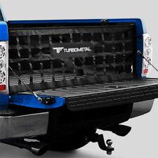 "Turbometal Heavy Duty 49"" x 15"" Black Mid Size Pickup Trucks Tailgate Cargo Net"