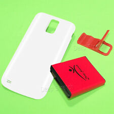 Upgraded 5560mAh Extended Battery White Cover for Samsung Galaxy S2 II SGH-T989