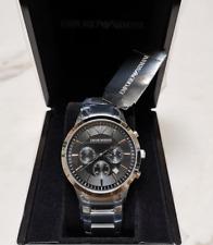 Emporio Armani AR2434 Classic Men's Watch Stainless Steel - WATCH ORIGINAL BOX