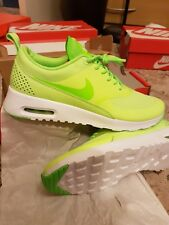"Nike Air Max Thea ""Ghost Green"" WOMENS TRAINERS SIZE UK 5 Neon"