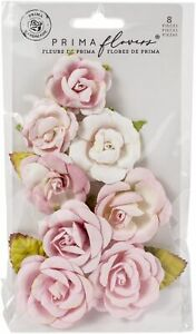 Prima Marketing Mulberry Paper Flowers-Pink Dreams/Magic Love