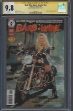 Barb Wire Movie Special #1__CGC 9.8 SS__Signed by Pamela Anderson