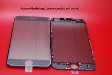 Nuevo iPhone 6 Negro Pantalla de Cristal Tech, Marco, Oca Pegamento, Polarizador pre-instalado