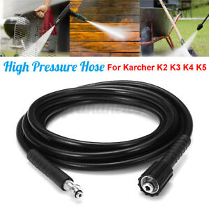 10/15M 5800PSI High Pressure Washer Hose Pipe Cleaner Drain Cleaning for Karcher