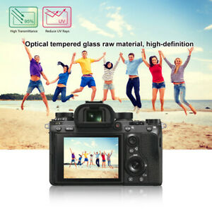HD Clear Glass LCD Screen Protector Film For Sony ILCE-9/A6500/RX100 Camera 779
