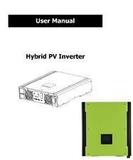 PDF manual for hybrid grid tie+off grid solar PV inverter 2KW & 3KW with charger