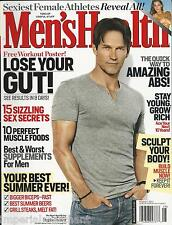 Men's Health Magazine True Blood  Stephen Moyer Muscle Foods Abs Supplements