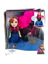 Disney Princess Frozen Anna Dress and Doll Size 4-6x