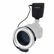 Meike FC100S LED Macro Ring Flash 5500K GN15 Light Kit for Sony DSLR Cameras
