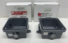 Federal Signal WB* Weatherproof Box Gray - Metal Enclosure Case