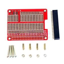 Raspberry Pi 3 Compatible PI3/PI2 model B HAT/Hole plate,prototyping board, TW