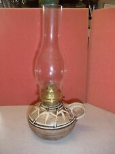 Collectible Vintage Table Oil Lamp Burner Craft Container