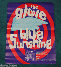 "THE GLOVE Robert Smith Siouxsie Cure 1990 Promo Poster ""Blue Sunshine"" 18"" x 24"""