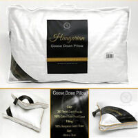 LUXURY 100% PURE HUNGARIAN GOOSE DOWN PILLOW 400 THREAD COUNT COVER
