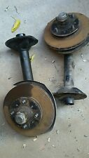 79-83 DATSUN 280ZX FRONT STRUT HOUSINGS SPINDLES WITH HUBS PARTS NICE OEM PARTS