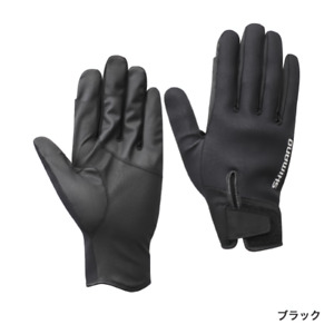 Shimano Pearl Fit 3 Cover Gloves Black GL-099T M / L / XL New Japan