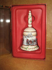 Lenox Annual Holiday Bell 2008 Home For Christmas Original Box Collectors