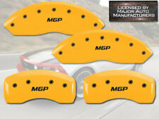 "2015-2020 Ford Mustang EcoBoost Perf Front Rear Yellow ""MGP"" Brake Caliper Cover"