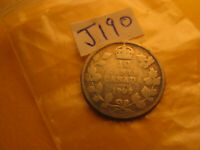 Canada 1902 H 10 Cent Rare Silver Coin IDJ190.