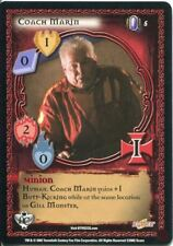 Buffy CCG TCG Angels Curse Unlimited Edition Card #5 Coach Marin