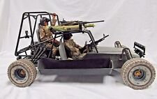 "Hasbro GI Joe 12"" Desert Strike Chenowth Tactical Dune Buggy w Driver + 1:6 K505"