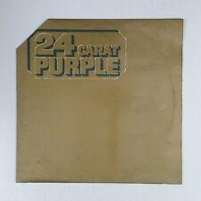 DEEP PURPLE 24 Carat Purple TPSM2002 UK LP Vinyl VG++ Cover VG+ Cut Corner