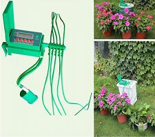 Automatic Micro Home Drip Irrigation System Watering Hose Garden Plant Self Diy