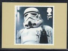 Great Britain Stormtrooper Star Wars Royal Mail Stamp Card