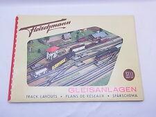 LOT 42244 | Heft Buch Fleischmann H0 Gleisanlagen 1957- 2. Auflage guter Zustand