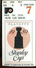Ticket Hockey Philadelphia Flyers 1989 5/5 Montreal Canadiens Conf Finals GM3