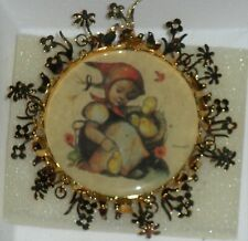 The Hummel Gold Christmas Ornament Collection-Chick Girl